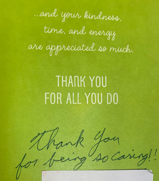 Thank You Notes From Our Patients image 3