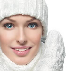 Dr Gerald N. Bock, MD California Skin & Laser Center Woman wears Ice cap