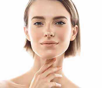 Dr Gerald N. Bock, MD California Skin & Laser Center Woman Touching her Mouth