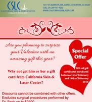 Eblast – Valentine's Day Specials