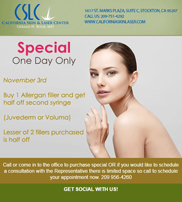 Eblast – Special One Day Only Offer