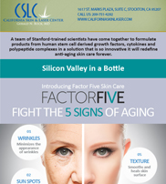 Eblast – Introducing Factor Five Skin Care