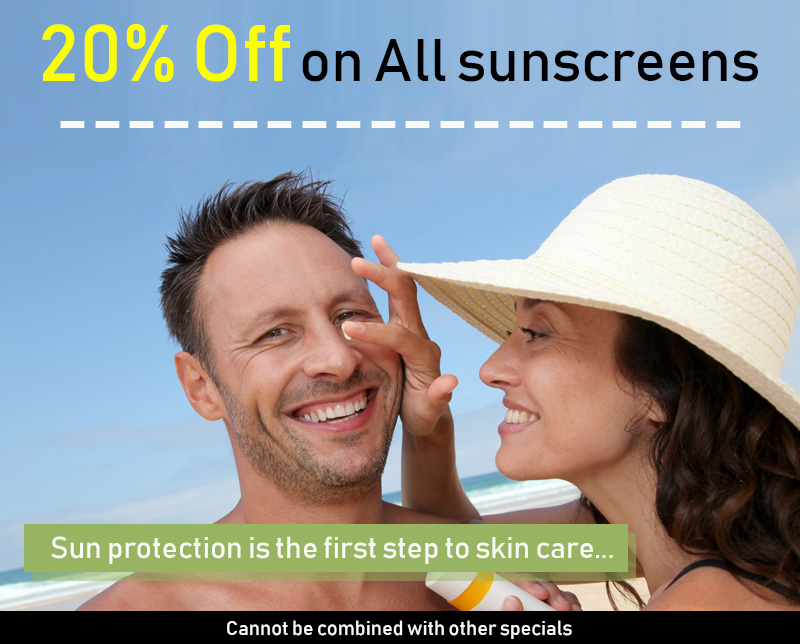 May Special - 20% Off for Sun Screens